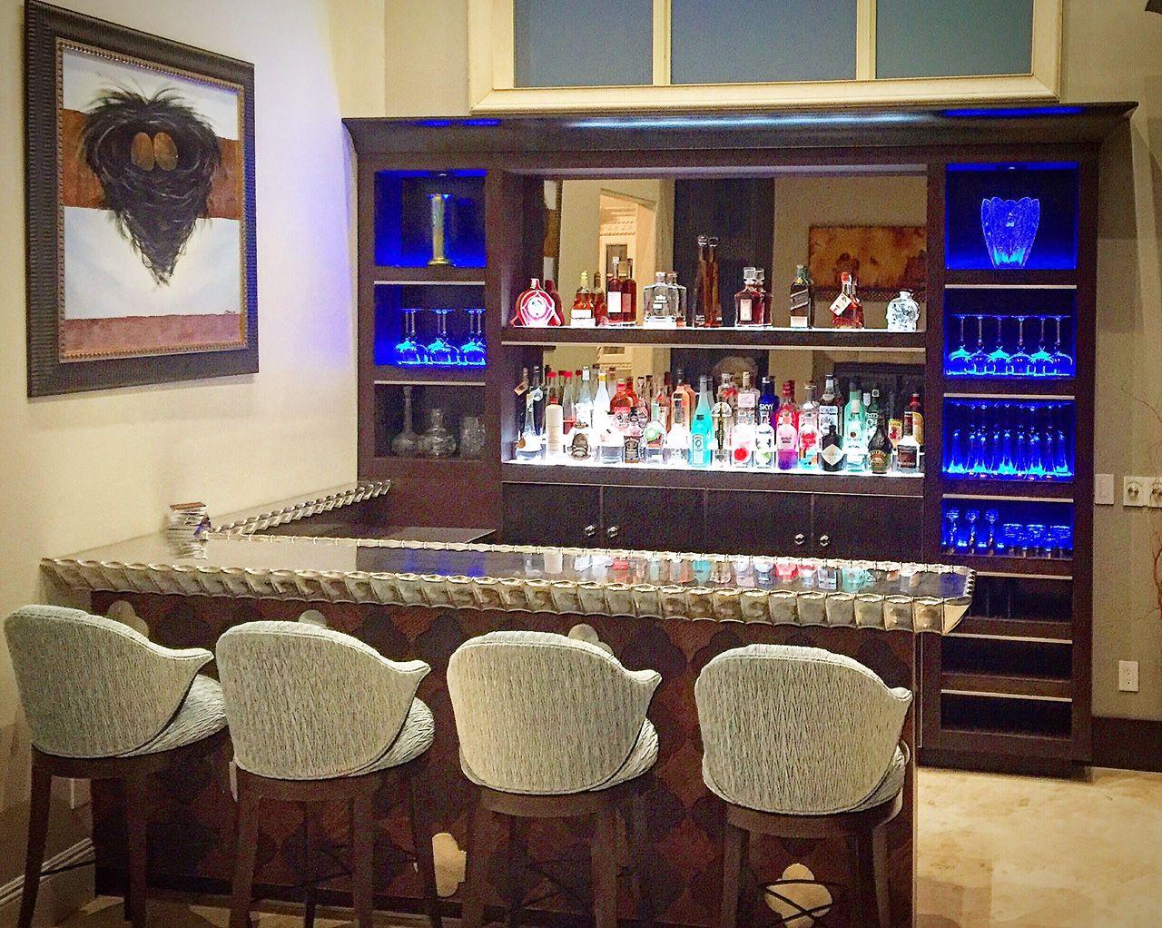 European Pewter Bar | Custom fireplace, Design, Fireplace ...