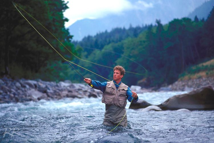 Fly Fishing In The Snoqualmie River Washington Copyright C Robert Randall Productions Skykomish River Snoqualmie Fly Fishing