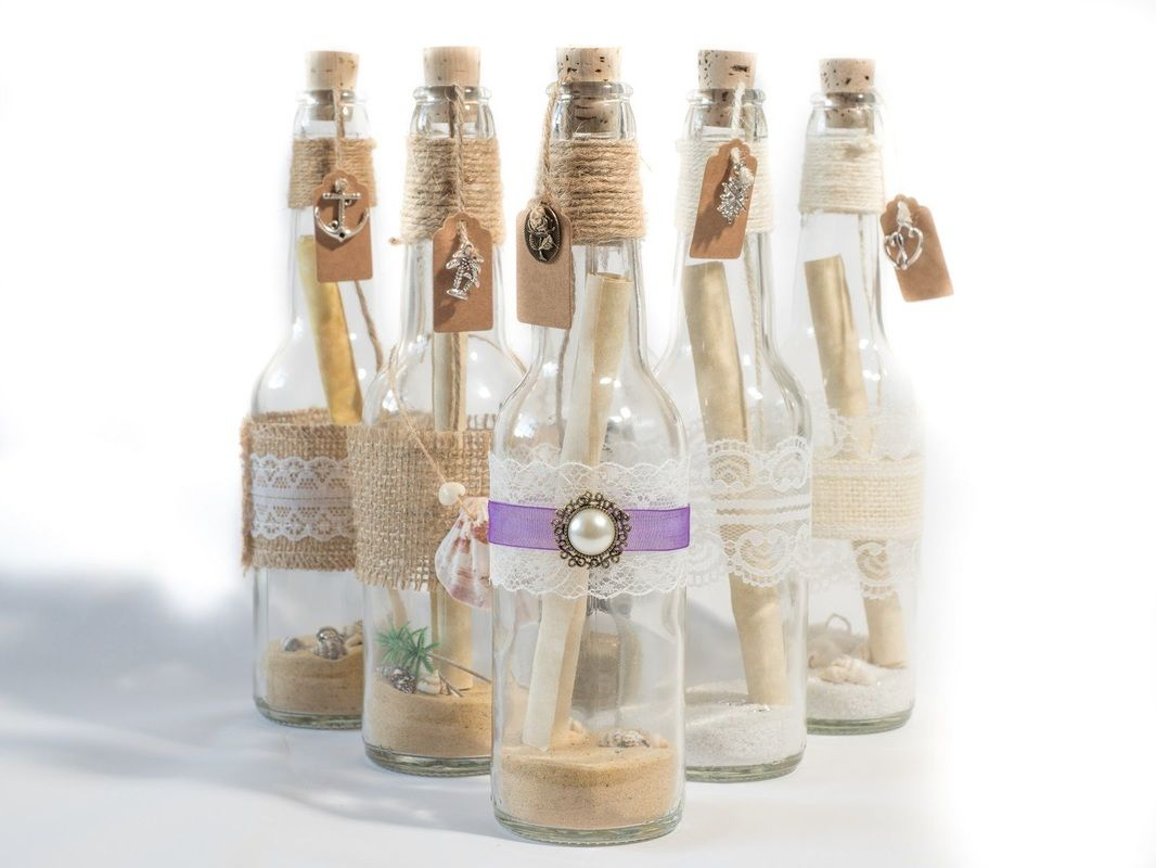 Message in a bottle invitation | detalles | Pinterest | Messages ...