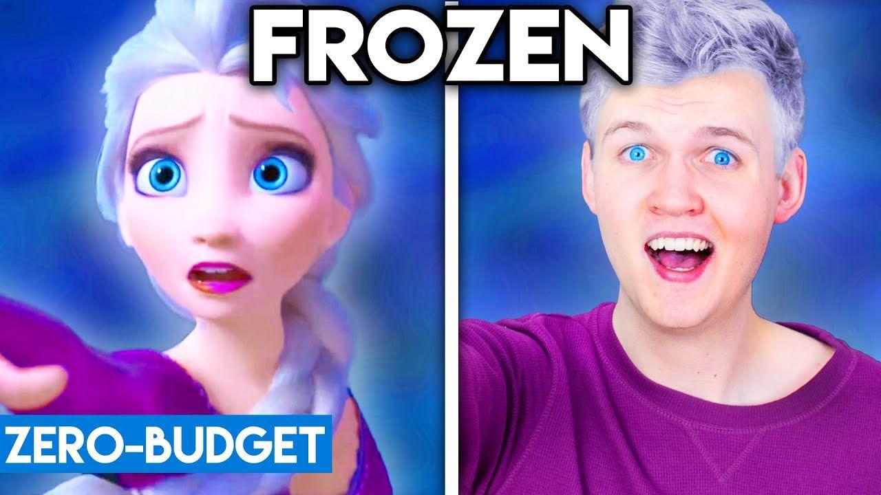 Frozen 2 With Zero Budget Into The Unknown Parody Sanic Memes Parody Budgeting