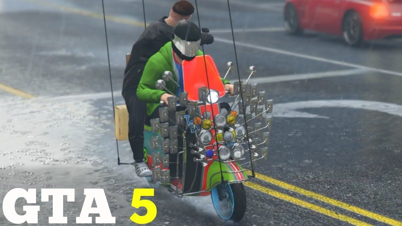 Gta 5 Best Bike Ever Faggio Mod How Much Money Cool Bikes Gta