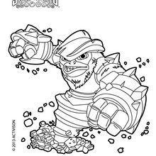 skylanders snapshot coloring pages - photo#16