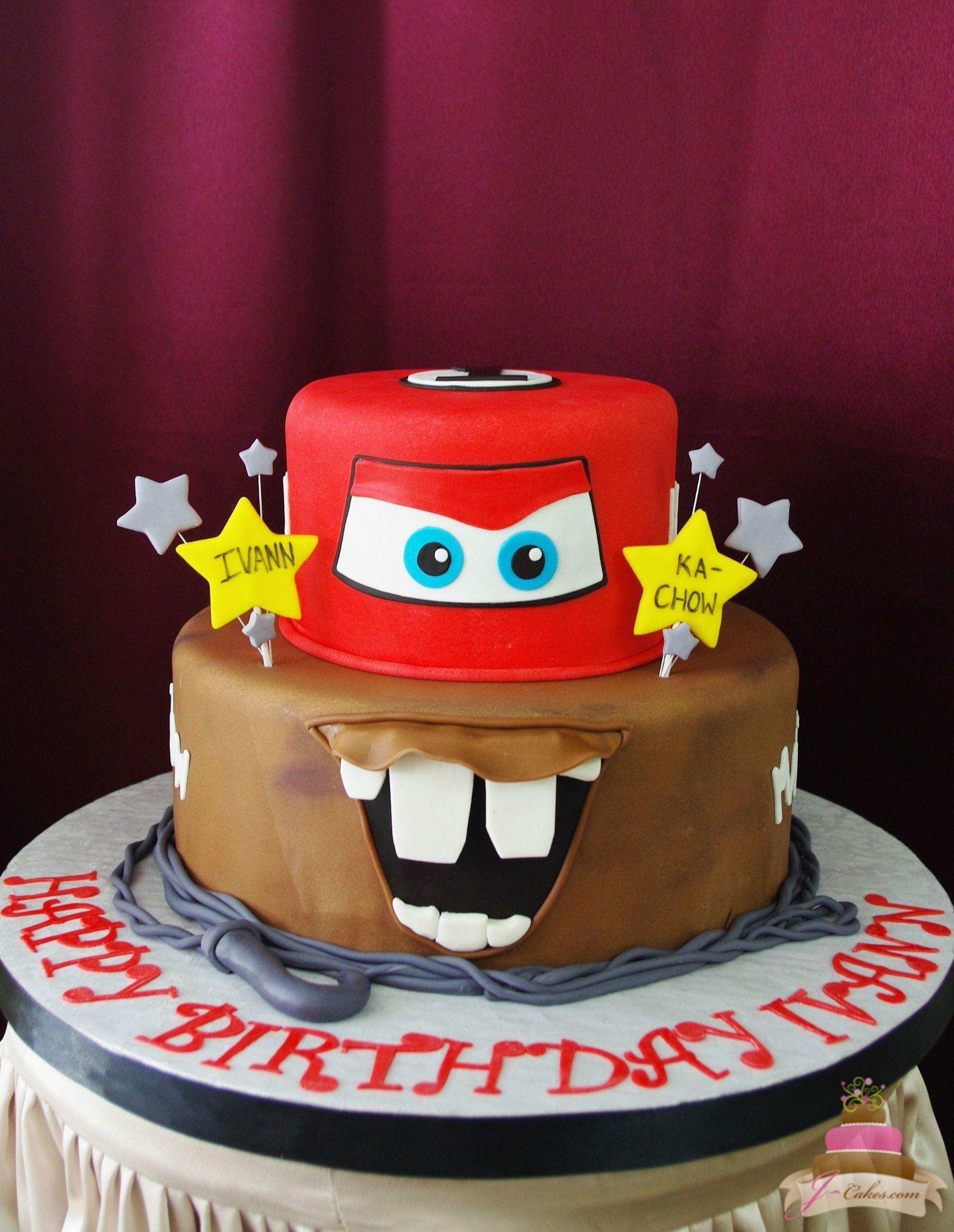 475 Cars Theme Cake Kids Cakes Pinterest Cars theme cake