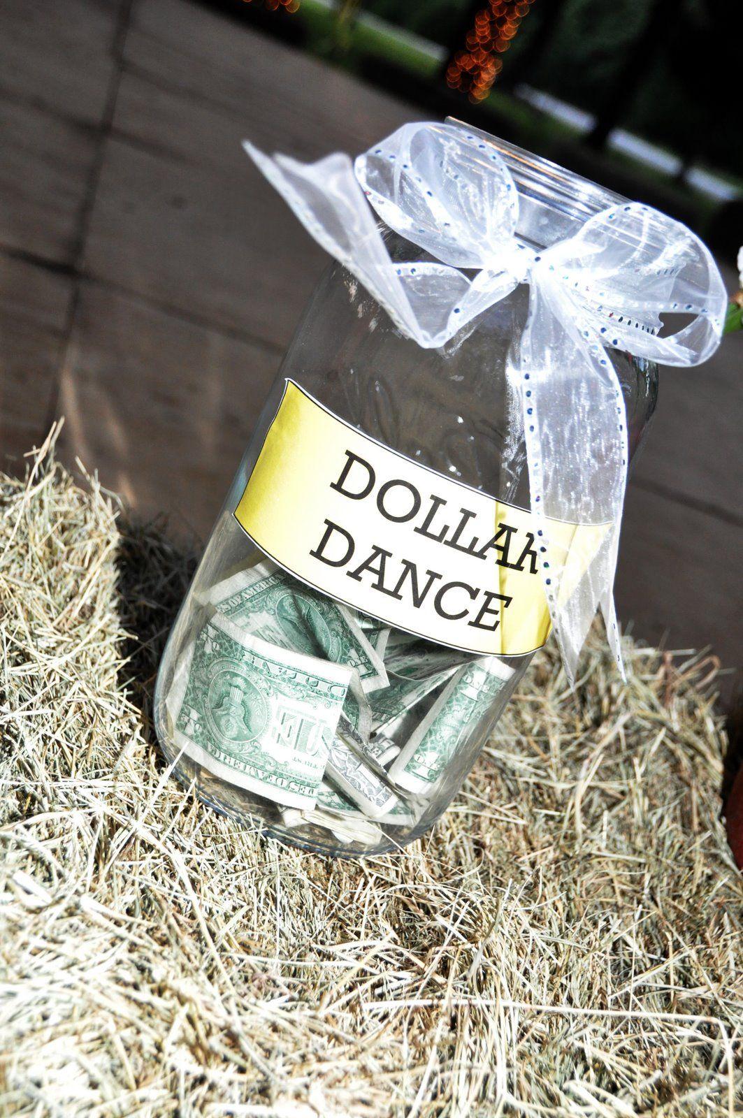 Dollar Dance Jar