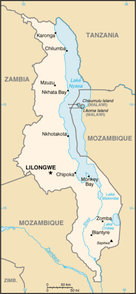 Malawi On Africa Map.Lilongwe Capital Of Malawi Africa Map Of Malawi Christ The Way