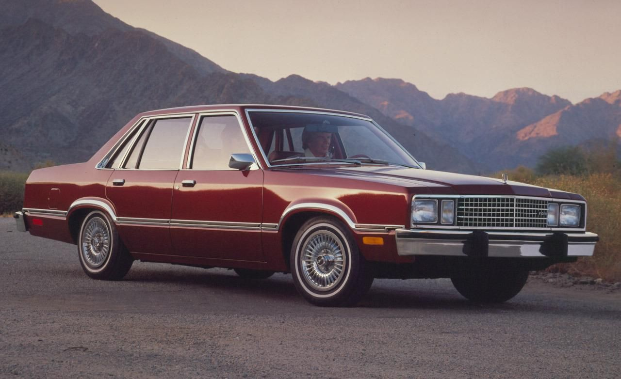 1978 ford fairmont four door sedan