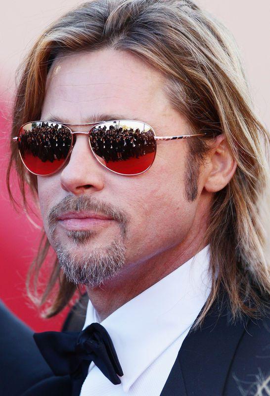 Brad Pitt op de première van 'Killing Them Softly'. © getty @ Judith Land