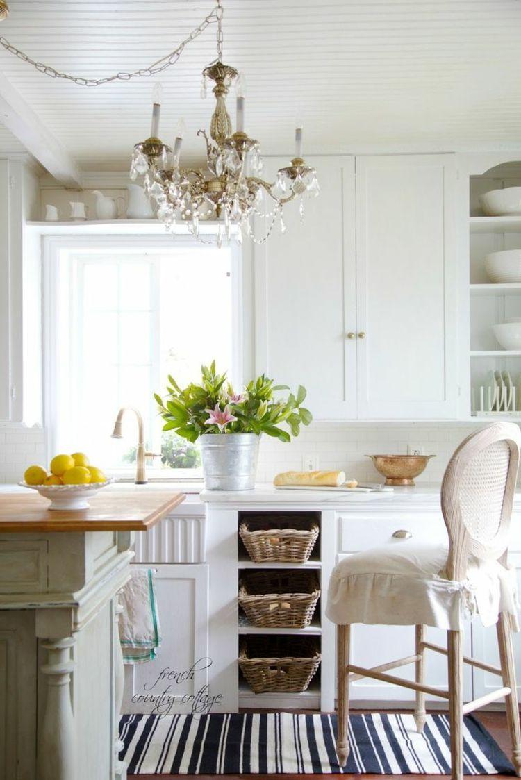 Französischer Landhausstil Country cottage kitchen