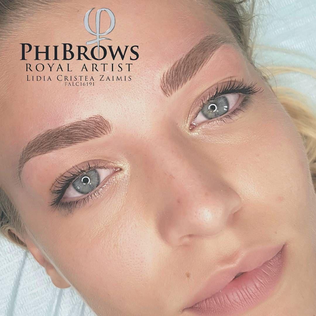 Phibrows Lidiaisteasagist Makeup Pinterest