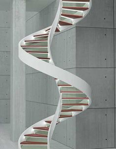 Dna Staircase Staircase Design Spiral Staircase Staircase