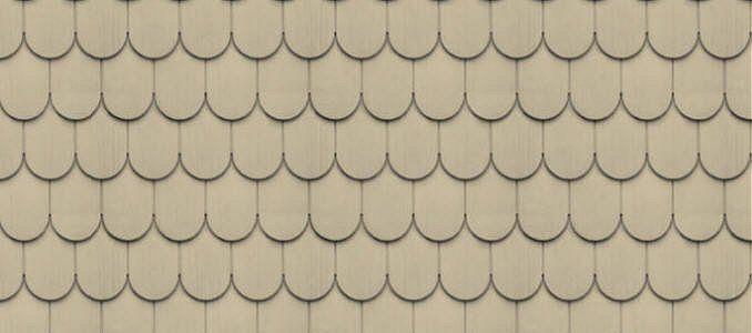 Cedar Impressions 6 1 4 Half Round Shingles Savannah Wicker Vinyl Siding Shingle Siding Siding