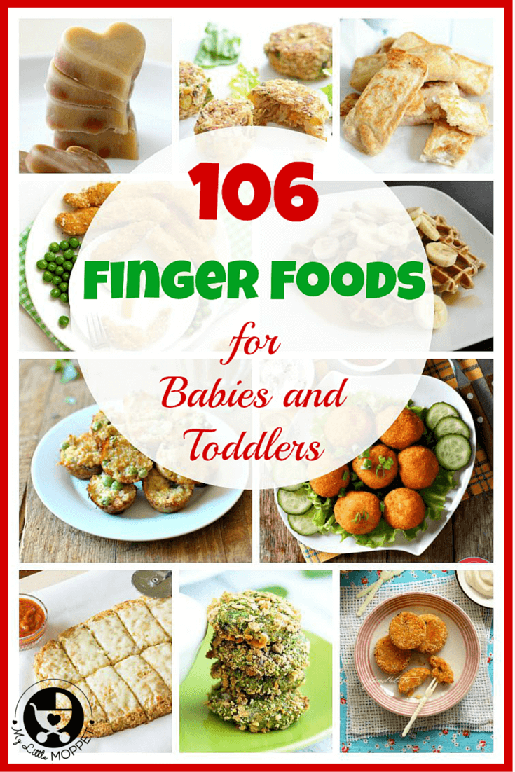 106 Baby Finger Food Recipes Baby food recipes, Toddler