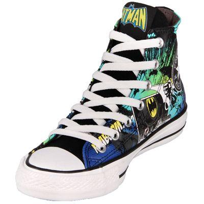 194dfd4819ba76 Shop Converse Chuck Taylor Hi Top DC Comics Canvas Batman Print Shoes  (120821) at GetShoes.ca leading converse retail outlet in Canada offers  wide ...
