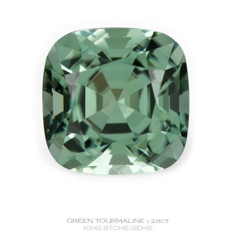 Namibian Green Tourmaline 2.11ct | KING STONE GEMS | Tourmaline ...