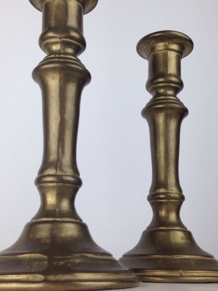 With old candlesticks to do what brass Vintage &