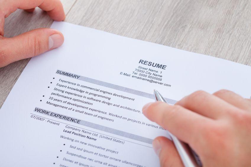 A strong, up-to-date #resume is an essential tool for any business - top 10 resume writing tips