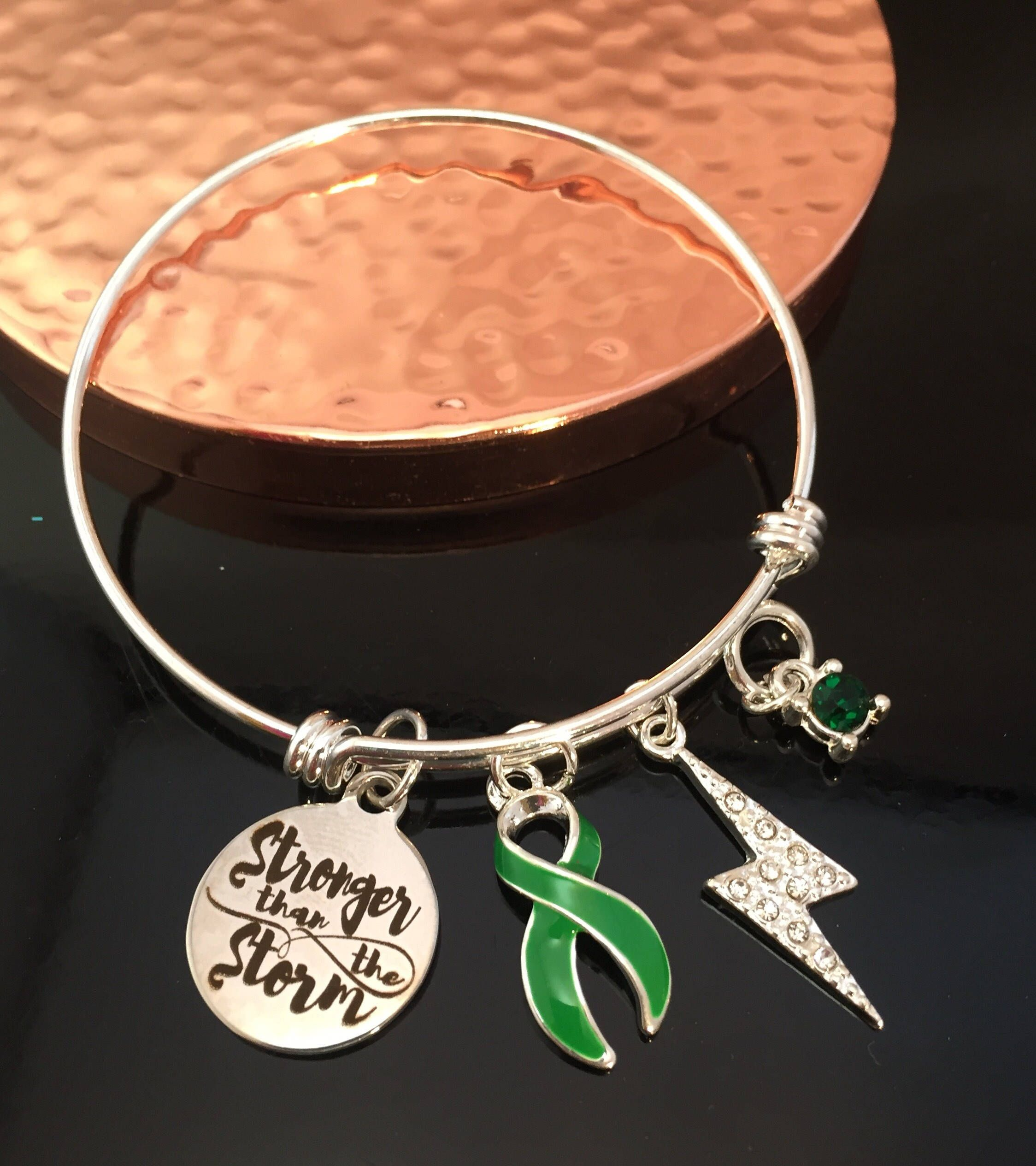 gift liver never your pick charm lung awareness surgery pin chronic ribbon illness ever brain survivor cancer give bladder up bracelet spoonie