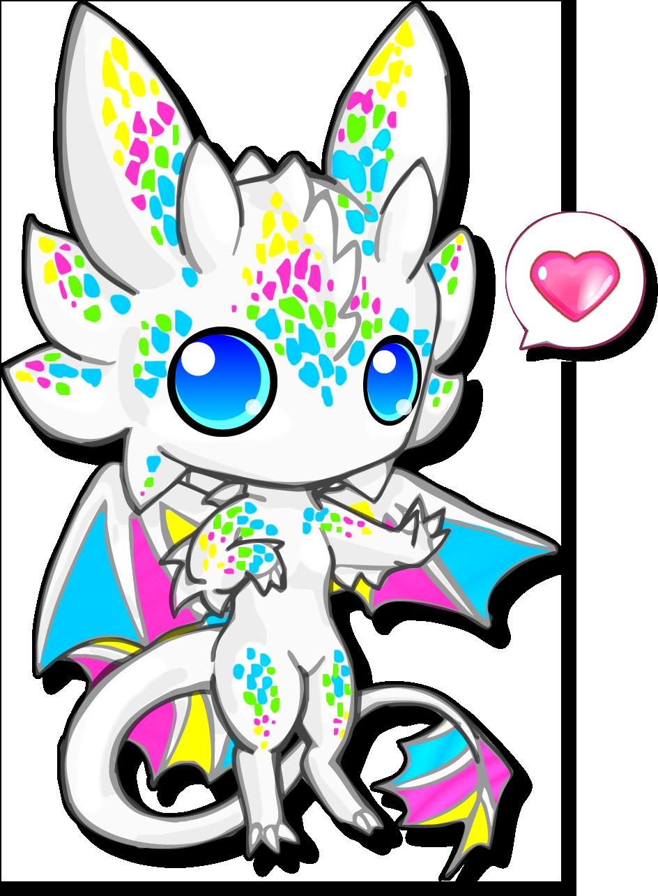 Chibi Cute White Dragon Clipart Best Mermaid Drawings Cute Dragons Dragon Drawing