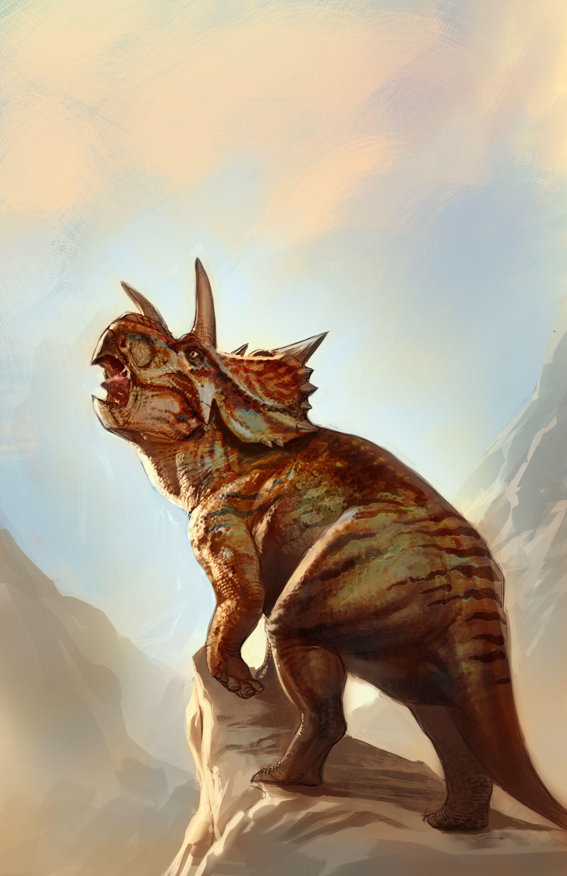 Artstation Xenoceratops Beasts Of The Mesozoic Jax Jocson Dinosaur Pictures Dinosaur Illustration Prehistoric Animals El asombroso mundo de los dinosaurios esconde un sinfín de llamativas especies, adaptaciones biológicas y también el desarrollo de diferentes grupos según sus estrategias de alimentación. beasts of the mesozoic jax jocson