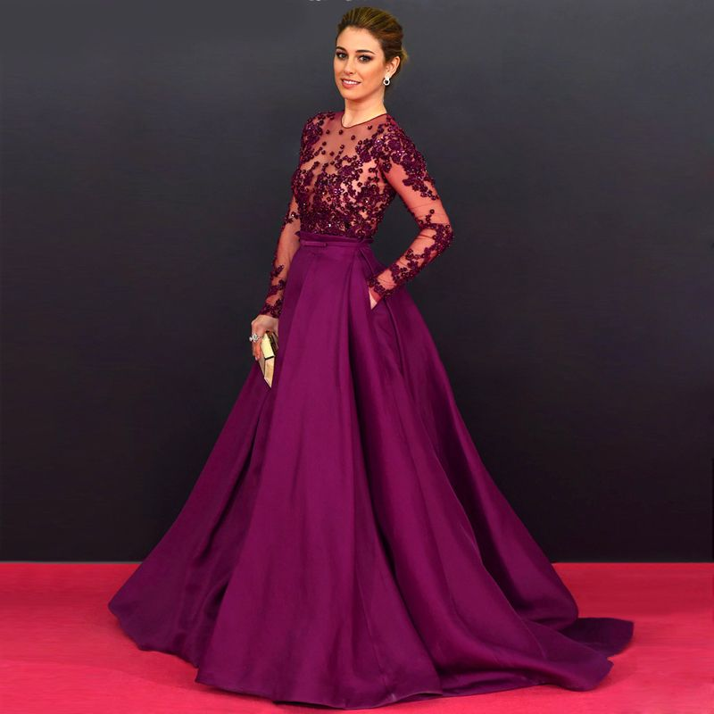 Designer long sleeve #eveninggowns from the red carpet can be easily ...