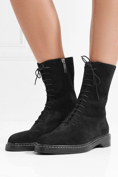 The Row Fara suede ankle boots outlet wholesale price lPNUcZ