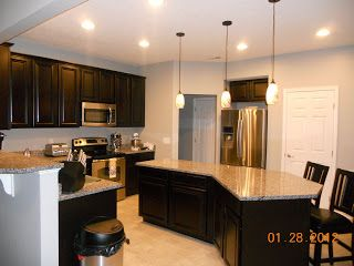 Venice Ryan Homes Gourmet Kitchen This Is What Our Kitchen Will Look Like  But We Are Getting Wood Vinyl Floors.