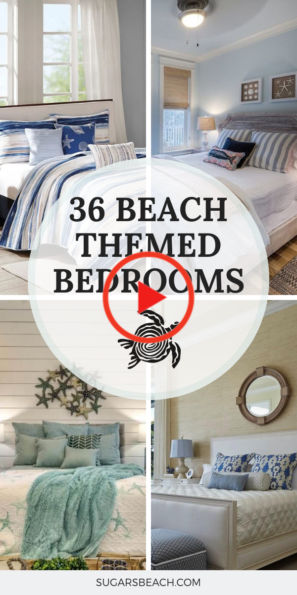 43+ Beach bedroom decor ideas in 2021