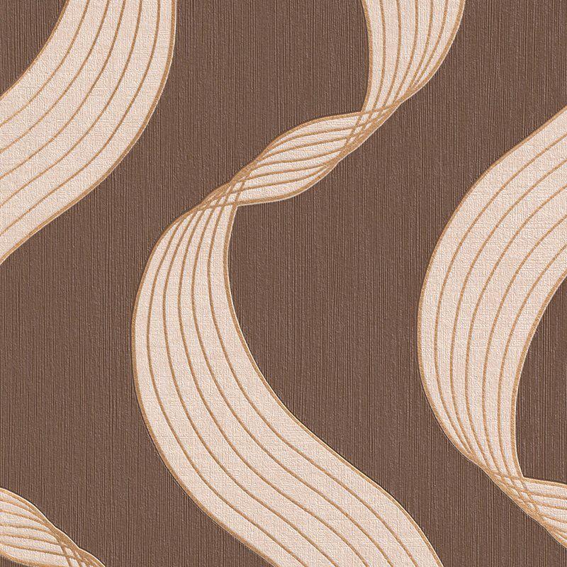Ribbons 32 97 X 20 8 Abstract Wallpaper Abstract Wallpaper Wallpaper Contemporary Wallpaper