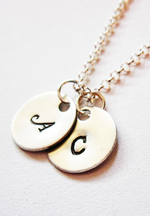 Two Initials Necklace