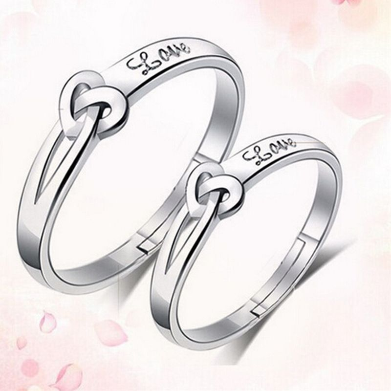 c68d01c47d High-quality ring Korea to Europe married couple rings personalized ring  opening ring (one pair price) #Affiliate