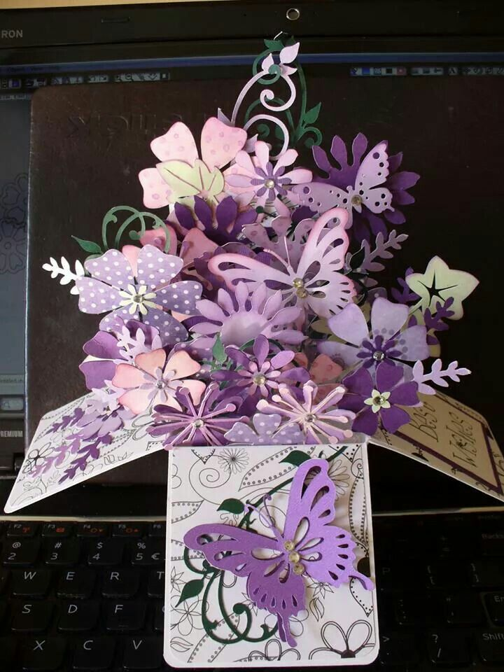 Pin By Tammy W On Cards Pop Up Box Cards Box Cards Tutorial Exploding Box Card