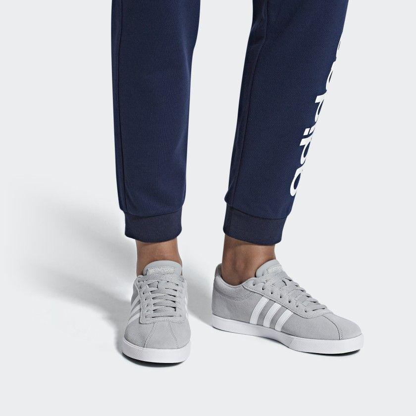adidas Courtset Shoes - Grey | adidas