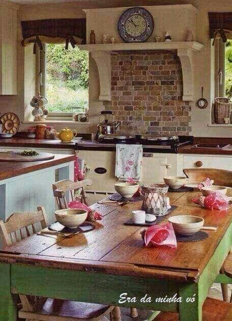 Pin de Maria Helena en Casa & Decoração | Pinterest | Cocina comedor ...
