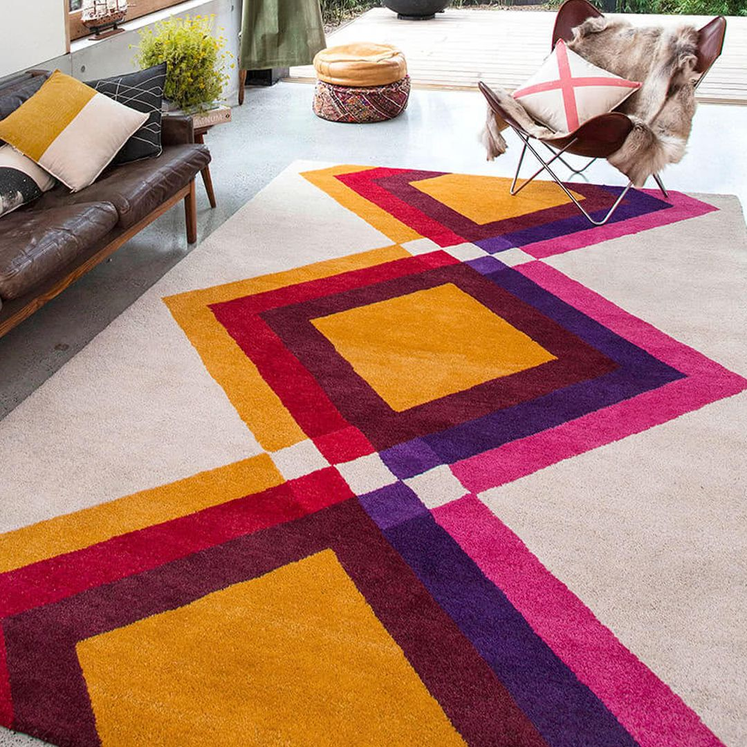 Mexican Misfit Rug Colour Wanderings