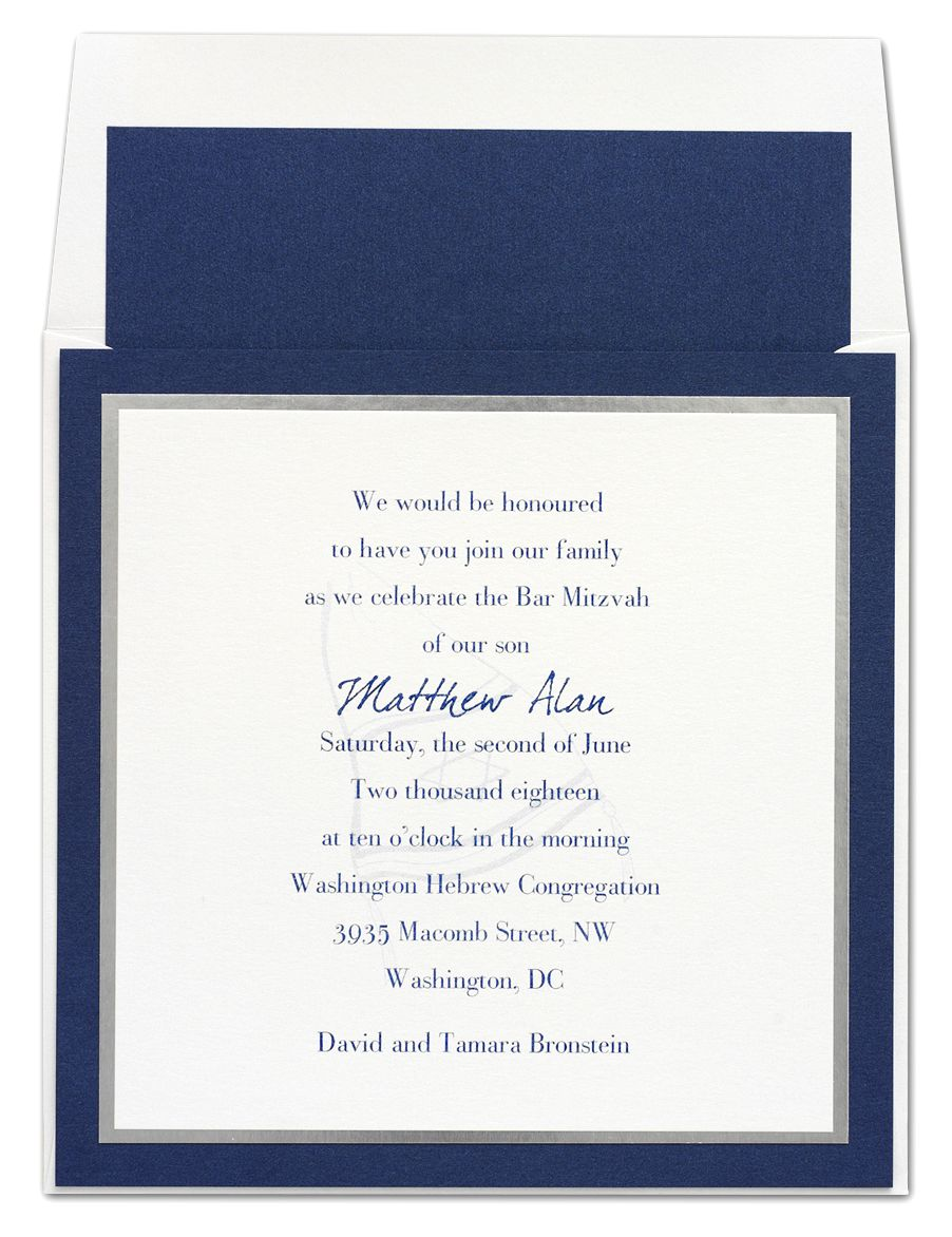 Layered invitation features white card stock layered atop silver layered invitation features white card stock layered atop silver card stock these two are then stopboris Image collections
