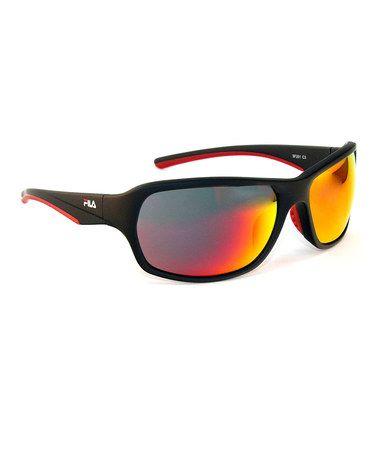 fila sunglasses red