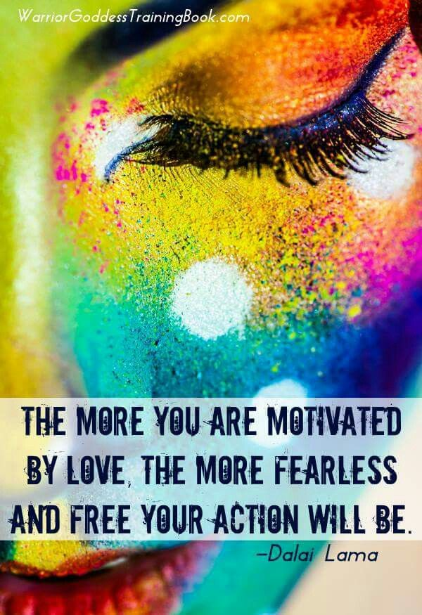 This is so true actions motivated by love are the only way to find this pin and more on warrior goddess in training by angelia13607 sciox Choice Image