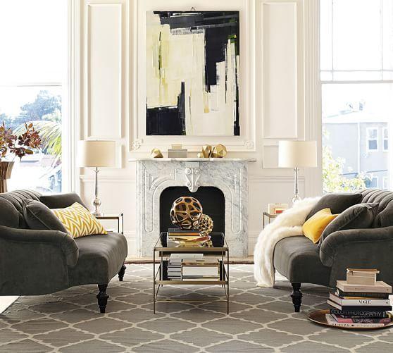 Clara Apartment Sofa | Pottery Barn | PB - UPHOLSTERY FURNITURE ...