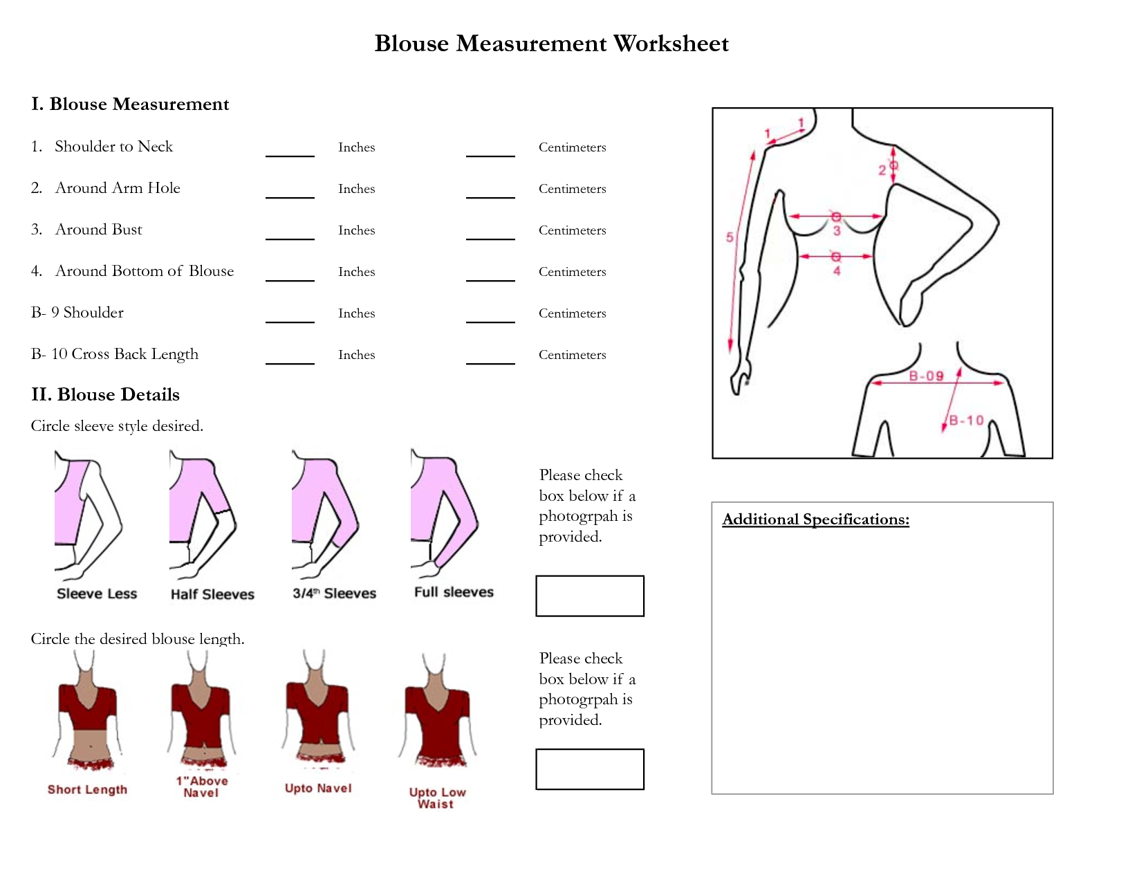 Measurement With Images