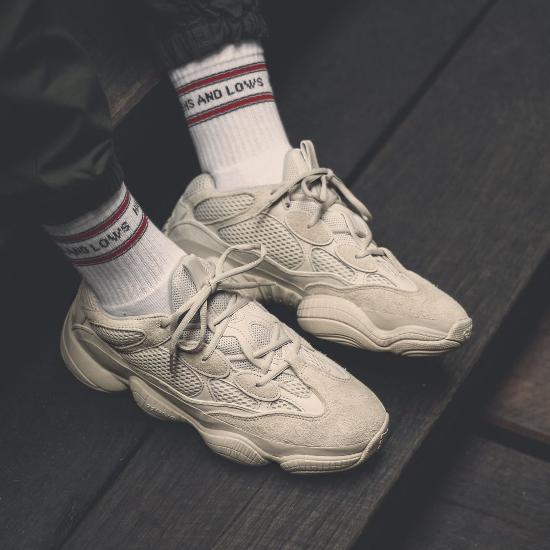 The adidas YEEZY 500 BLUSH