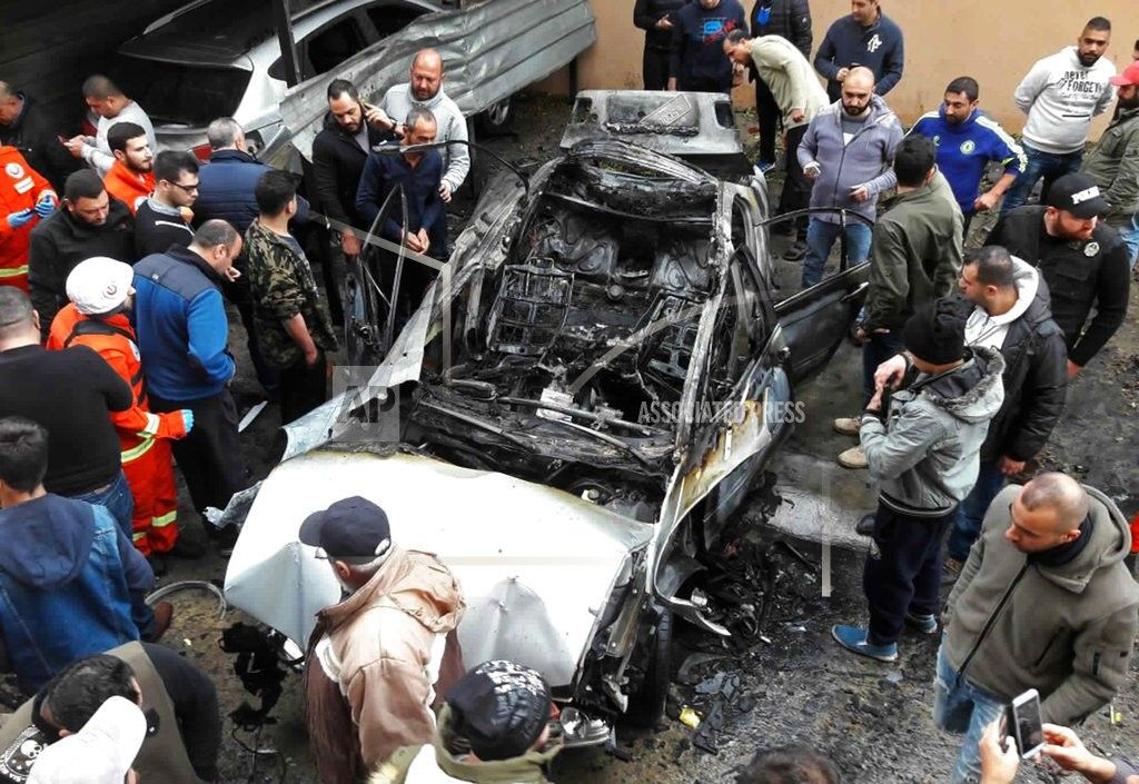 BEIRUT/January 14, 2018 (AP)(STL.News) —A bomb went off in