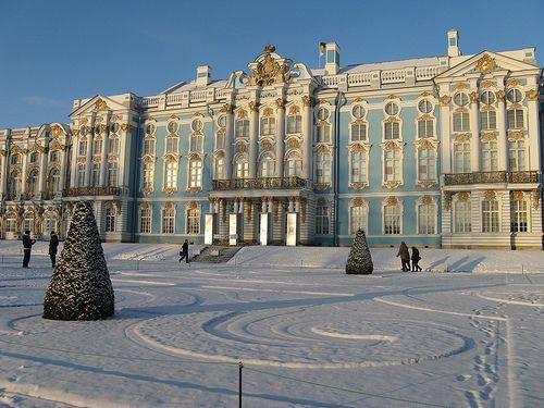 Winter Palace, Saint Petersburg, Russia.