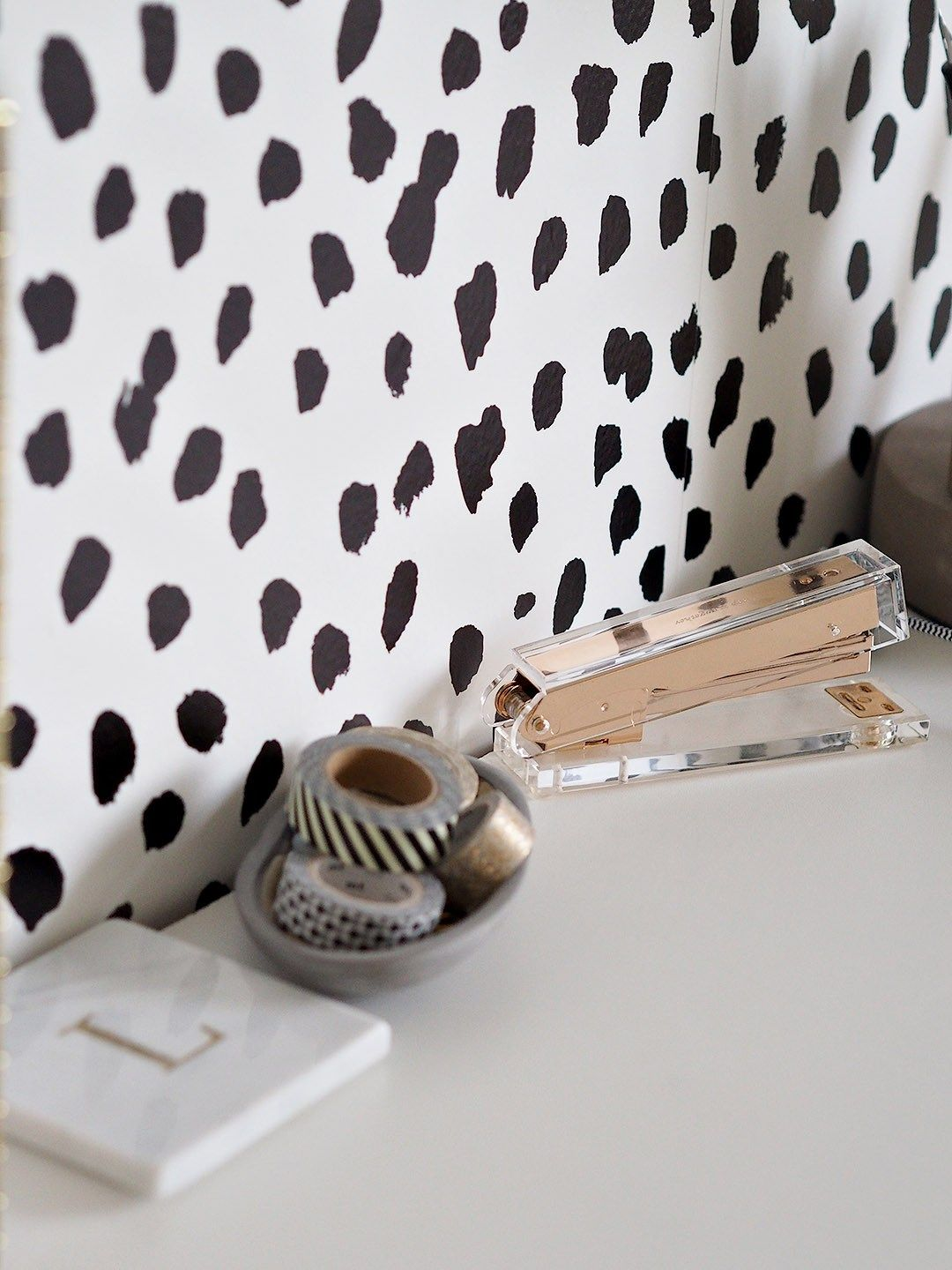 Heart Of The Home Natural Marble Doorstop With Leatherette