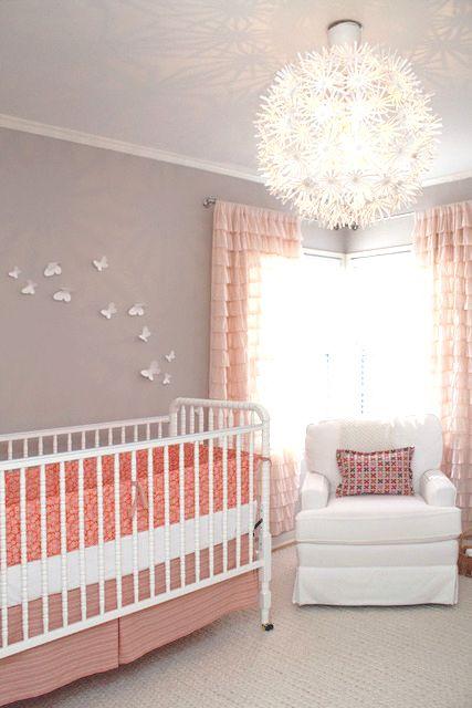 Peachy Baby Nursery Design J Kurtz