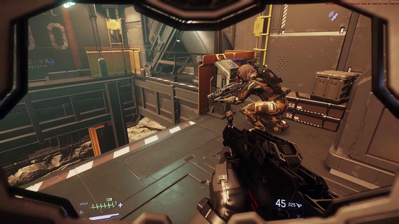 Star Citizen Gameplay Bunker Assault Star Citizen Gameplay Mmo