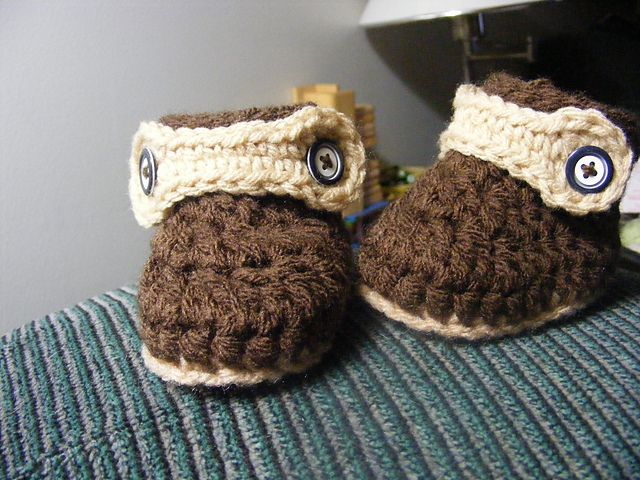 Ravelry Assorted Baby Boots Pattern By Barbara Bazzocchi Crochet