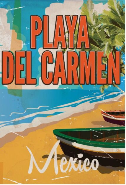 SEE Mexico Mexican North America Travel Tourism Vintage Poster Repro FREE S//H