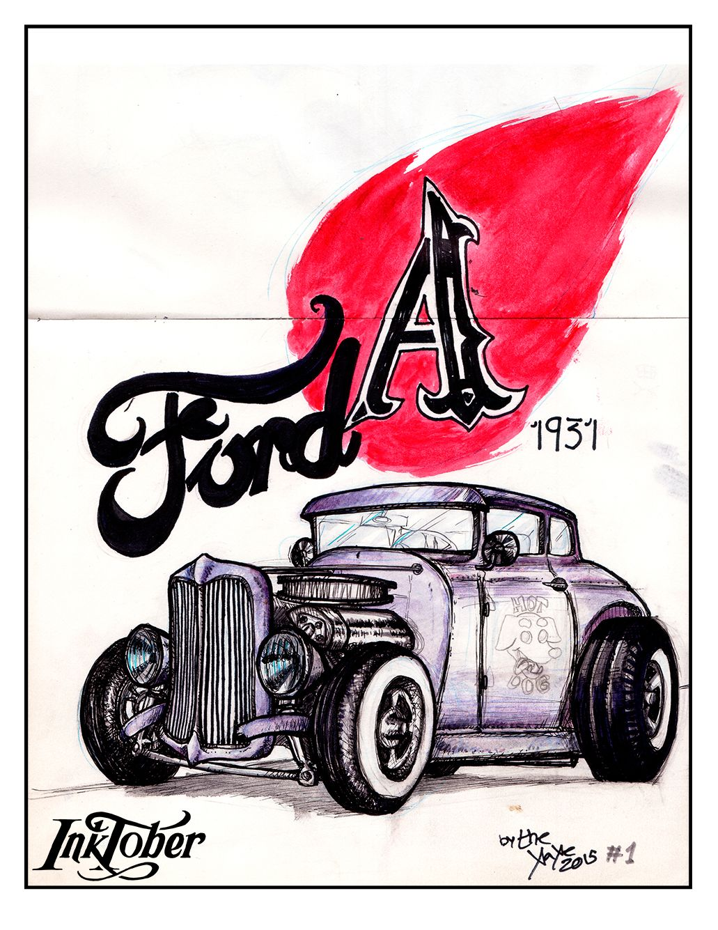 #inktober #ink #ford