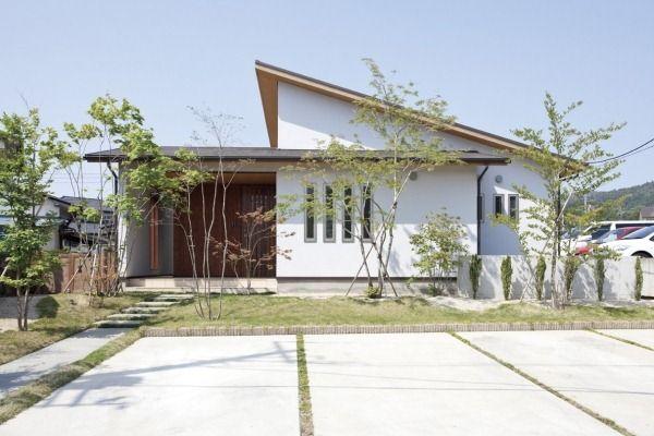 20130620ok 001 平屋 外観 デザイン 現代庭園