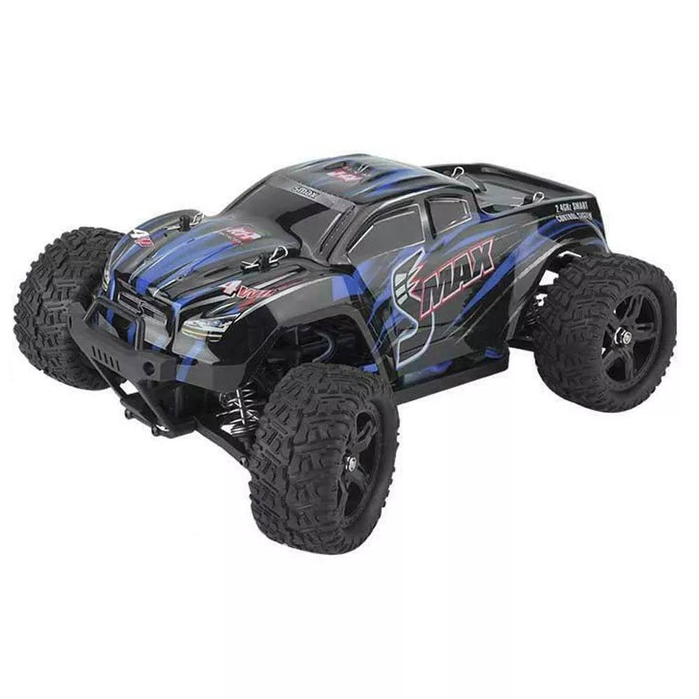 Shopping Remo 1635 1 16 2 4g 4wd Waterproof Brushless Off Road Monster Truck Rc Car Vehicle Models Blue Online Rcbuying Monster Trucks Rc Cars Vehicles